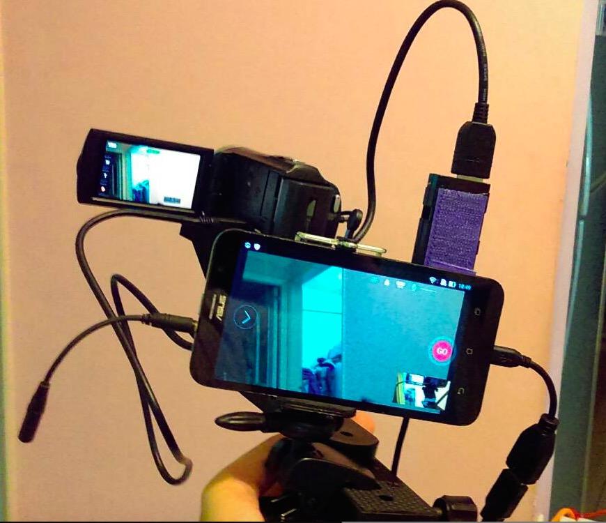安卓手機使用febon180免驅程式擷取卡讓外接攝影機做fb臉書直播 T17 討論區 一起分享好東西