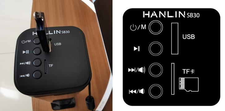 HANLIN-SB30二合一劇院環繞立體音響:翻轉喇叭,SoundBar、雙喇叭任君選擇