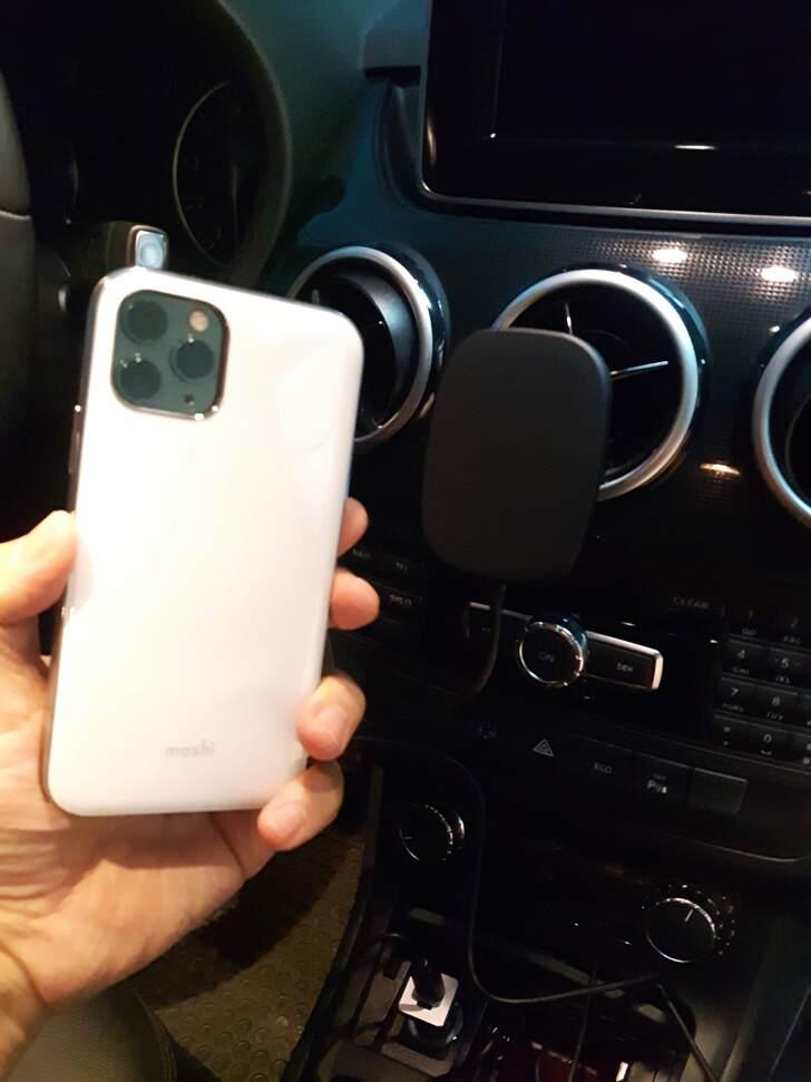 SnapTo™ 磁吸無線充電手機車用支架實測試用心得 - 21